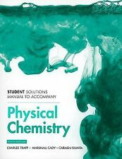 Student Solutions Manual for Physical Chemistry, dePaula, Julio, Atkins, Peter,