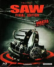 Saw 1-7 Collection Box , 100% uncut / the complete Series , Blu_Ray , NEW