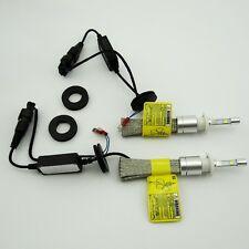 2pcs R3 Cree H7 Rocket LED Headlight Kit bulb 40W 4800LM with Rapid cooling bags