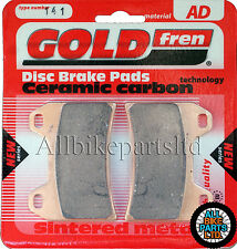 SINTERED FRONT BRAKE PADS For: KTM SMC 625 (2005-2006) / SMC 640 LC4 (2005)
