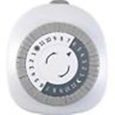 Staples 24 hour Mechanical Outlet Timer, White ~ Free Shipping