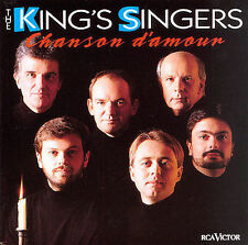 King's Singers Chanson D'Amour CD EX 1993 King Kings