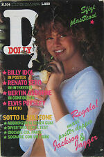 DOLLY 304 1984 Billy Idol Bertin Osborne Renato Zero Elvis Presley Diana Ross