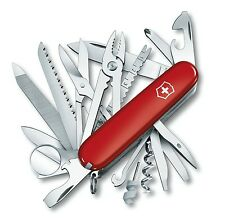 SWISS ARMY VICTORINOX 53501 SWISSCHAMP CHAMP RED MULTI FUNCTION POCKET KNIFE.