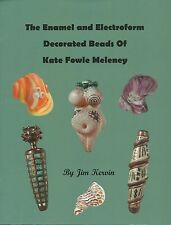 ENAMEL ELECTROFORM DECORATED BEADS KATE FOWLE MELENEY Stained Glass Supplies NEW