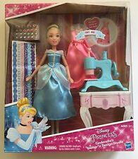 Disney Princess Cinderella's Stamp 'N Design Studio Doll Dress Play Toy New Gift