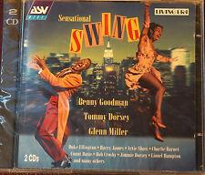 Rare Sensational Swing  ASV 45 Tracks 2 CD Sealed 152 Mins MINT AAD 1999 Mono