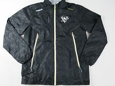 New Reebok Pittsburgh Penguins NHL Pro Stock Hockey Coach Player Rink Jacket 3XL