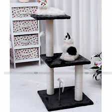 Cat Tree Scratching Post Pet Gym House Condo Furniture Poles Giant 70cm Grey