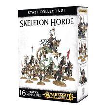 WARHAMMER AGE OF SIGMAR - Start Collecting ! Skeleton Horde - NEW/BOX