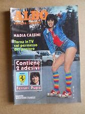 Albo Varietà e Motori n°15 1980 --  Nadia Cassini  [G435]