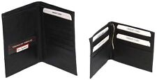 Free!!! Genuine Leather Bill-Fold Clip Wallet with Passport Holder # 4240 & 4057