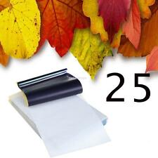 25 x Sheets A4 Tattoo Thermal Carbon Stencil Transfer Paper Tracing Kit