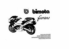 CATALOGO RICAMBI BIMOTA YB8 FURANO COPY SPARE PARTS CATALOGUE MULTILANGUAGES