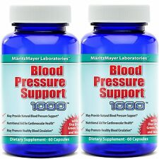 BLOOD PRESSURE SUPPORT HEALTH COMPLEX 120 CAPSULES NEW (2 BOTTLES)