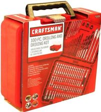 NEW Craftsman Tool Set 100 Piece accessory kit Drilling and Driving ACM1001