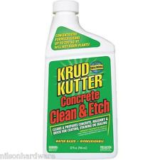 3 Pk Qt Concentrate Krud Kutter Concrete Clean & Etch Cleaner Degreaser CE326