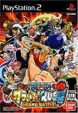 Used PS2 From TV Animation One Piece Grand Battle Rush Japan Import