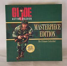 "1996 GI JOE MASTERPIECE EDITION ACTION SOLDIER 12"" FIGURE & BOOK NIB"