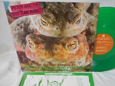 Peter & the Test Tube Babies Mating Sounds of S American Frogs LP Green Skinhead