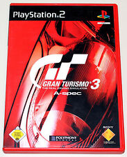 GRAN TURISMO 3 - A-SPEC - PLAYSTATION 2 - DVD BOX MIT HANDBUCH - PS2 RACING