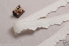 "10Y+free 4Yds Broderie Anglaise cotton eyelet lace trim 0.8""2cm YH1280 laceking"