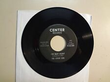 "OTHER SIDE: I'm Not Hurt 2:37- Don't You Stray-U.S. 7"" Center Records 45-MS-1208"
