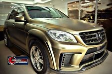 2012-2015 Mercedes Benz ML Class W166 DP Style Full Wide Body Kit Bumpers/Flares