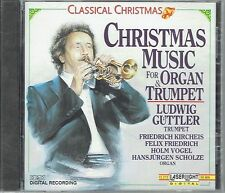 Classical Christmas Music for Organ & Trumpet - Ludwig Guttler (1990)- CD-(NEW)