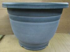 "3 x Large 15"" Planter Pots Plant Flower Herb Pot Garden Patio ROUND"