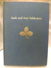 Buch Stadt und Amt Salzkotten Stadtgeschichte Heimat Paderborn NRW Westfalen