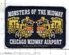 Illinois - Chicago Midway Airport IL Fire Dept Patch