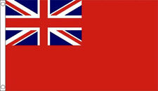 3' x 2' Red Ensign British Naval Flag Merchant Navy Red Duster Flags Banner
