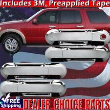 2002-2010 FORD EXPLORER MERCURY MOUNTAINEER Chrome 4DR Door Handle COVER W/O PSK