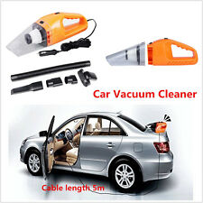 Universal Car 12V 120w Portable Handheld Vacuum Cleaner Wet/Dry Dust W/5m Cable