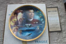 STAR TREK PLATES THE MOVIES STAR TREK  IV THE VOYAGE HOME  FROM HAMILTION COLLEC
