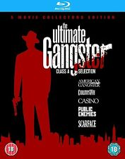 The Ultimate Gangster 5 Movie Blu Ray Collection Complete Box Set Region Free