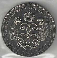 Great Britain, 1990, 5 Pounds, Crown, Copper Nickel, Km#909, Uncirculated