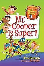 My Weirdest School #1: Mr. Cooper Is Super!-ExLibrary