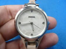 New Old Stock 32mm FOSSIL Quartz Women Lady Watch