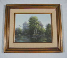 VINTAGE FLORIDA EVERGLADES PAINTING BY DOROTHY STARBUCK