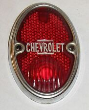 Vintage Chevrolet Chevy Tail Light Lens 1933 1934 1935 1936 OEM Chevray