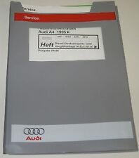 Werkstatthandbuch Audi A4 B5 Diesel 4 Zylinder Vorglühanlage ab Baujahr 1995