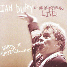 Ian Dury Warts 'N' Audience Live CD *SEALED* What A Waste Rhythm Stick etc