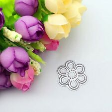 Sechs Blumen Stencils Cutting Die Scrapbooking Tagebuch Stanzschablone Metal