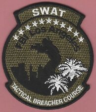FBI FEDERAL BUREAU OF INVESTIGATION LOS ANGELES POLICE SWAT TEAM PATCH