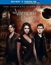 The Vampire Diaries: The Complete Sixth Season (Blu-ray Disc, 2015, 4-Disc...