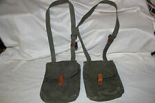 "2 Yugoslavian Military AK-47 4 Cell Magazine Pouch for 30 Round Mag ""B Grade"""