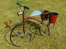 Shabby Vintage Bicicletta fioriera vasi di fiori 2 BICI delle Piante Decorazione Giardino Design