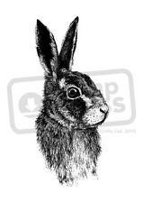 A7 'Rabbit' Unmounted Rubber Stamp (SP000606)